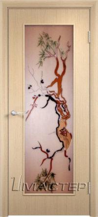 Дерево стекло Кедо Беленый дуб